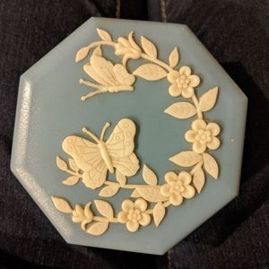 Other - Blue Wedgewood Trinket Box Butterfly